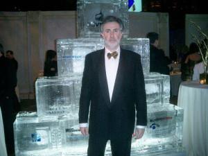Я на презентации *Ad vision award*,Нью Йорк, 2007 год, где была впервые исполнена моя песня 'Реклама'.