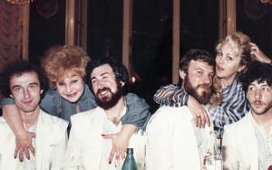 Мы после работы в ресторане, Одесса, 1985.